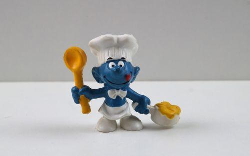 smurf smurfs cook smurf
