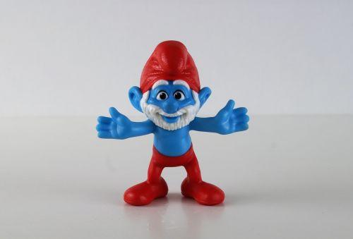smurf smurfs papa smurf