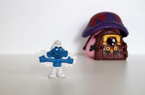 smurf smurfs figure