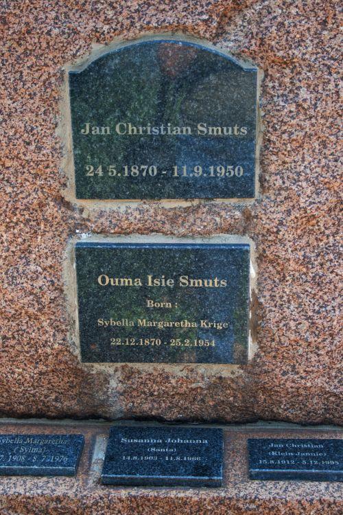 Smuts Family Memorial