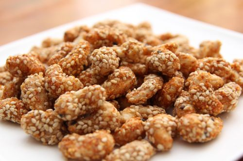 snack cashew nuts food