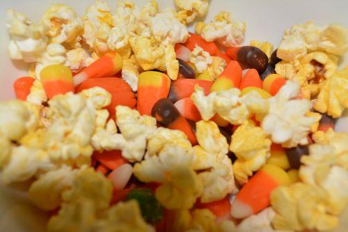 Snack Popcorn Candy Sweet Crunchy