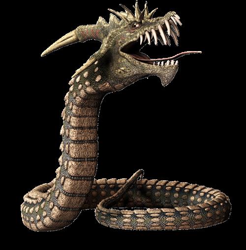 snake dragon head