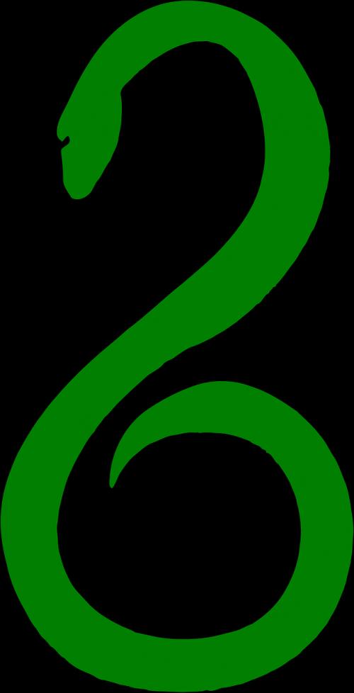 snake green serpent