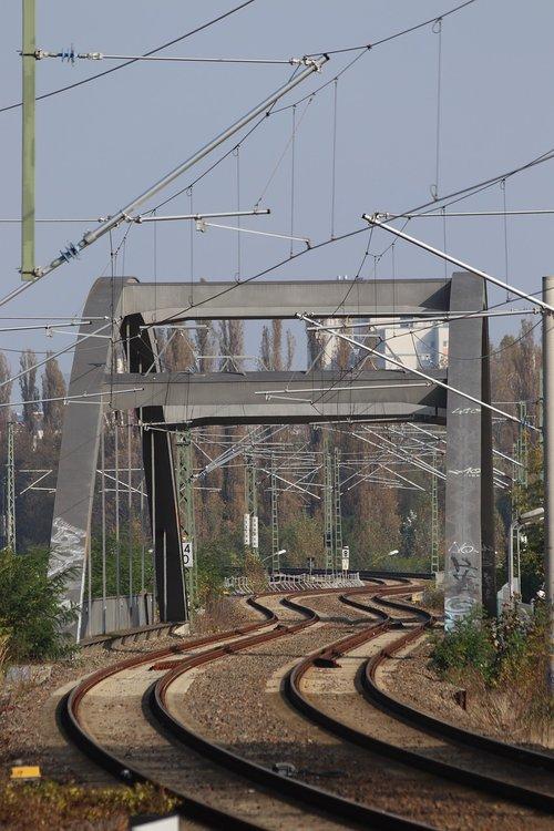 snake line  rails  railway