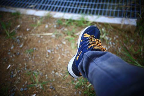 sneaker foot thong