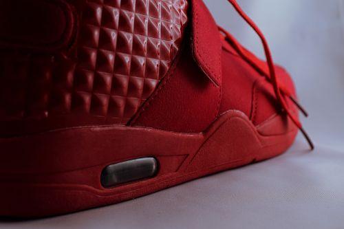 sneaker shoe close