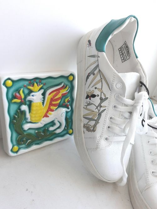 sneakers turquoise green
