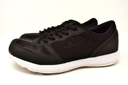sneakers black sporty