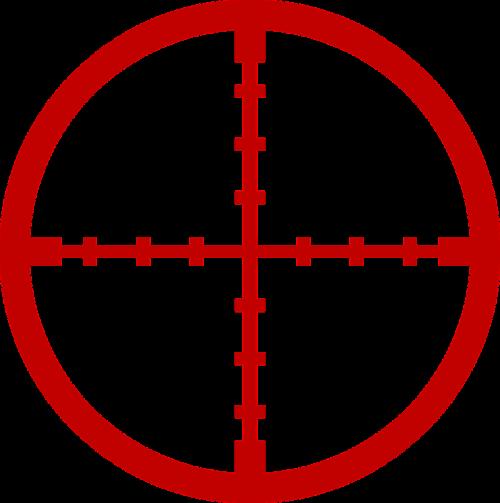 sniper aim crosshair