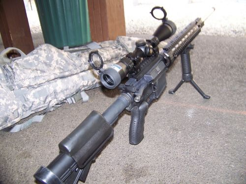 sniper weapon rifle