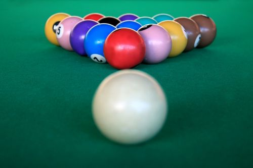 snooker billiards game
