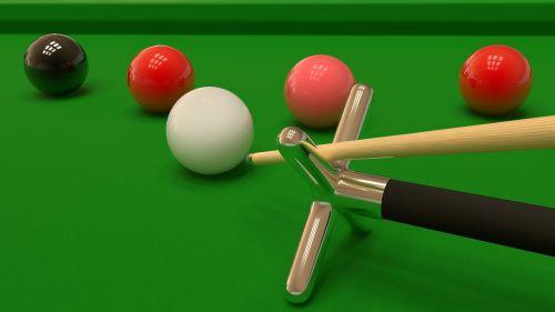 snooker sport balls