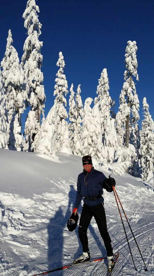 cross country skiing snow cross country