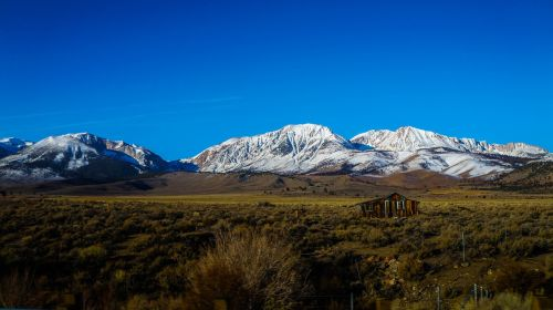 snow mountains mammoth
