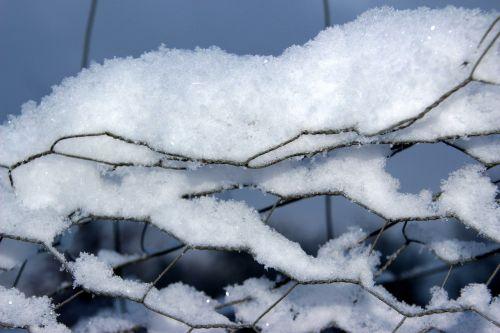 snow snow crystals winter