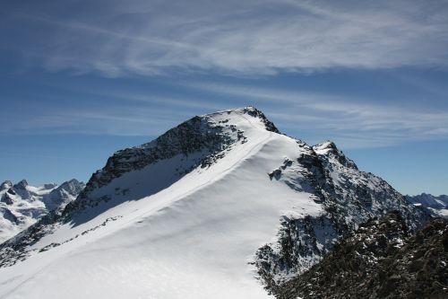 snow mountain alps