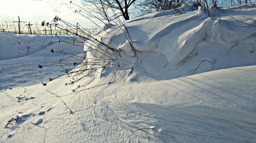 snow zaspa winter
