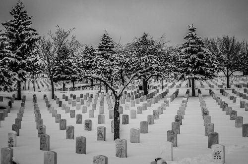 snow cemetery national gravesite