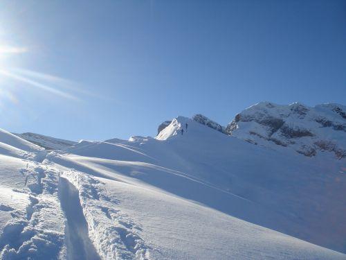snow tour bergtour