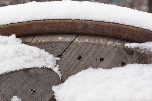 snow,new zealand,winter,white,cold,frozen,cable drum,wood,brown,beige,site,pattern,structure,about