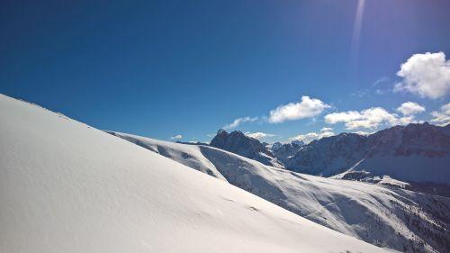 snow mountains naturlandschaft