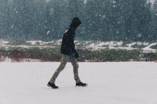 snow blizzard winter