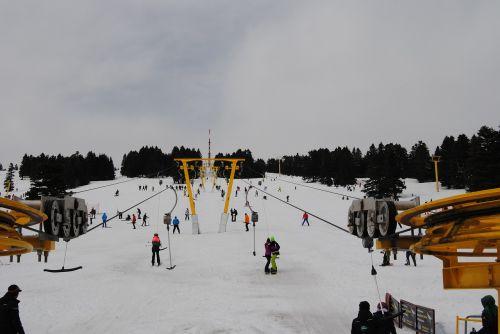 snow skiing winter