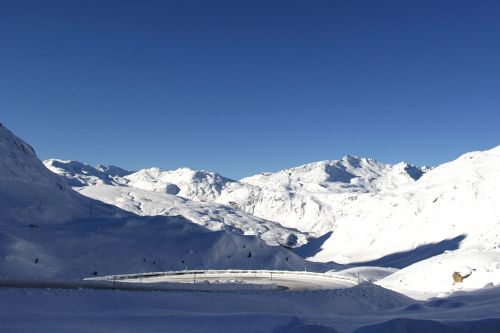 snow mountain glacier