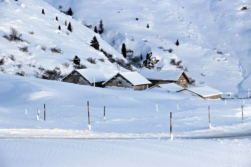 snow winter bergdorf