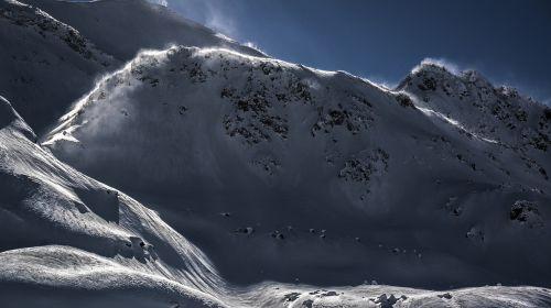 snow ice mountain