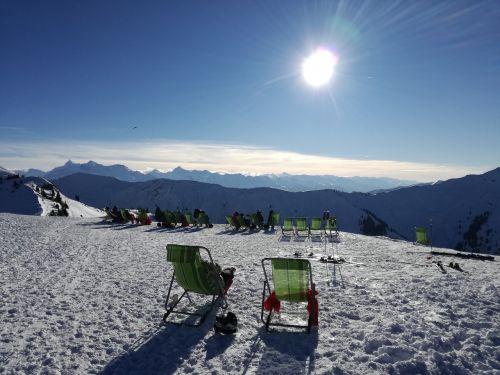 snow mountain winter