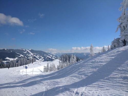 snow winter ski