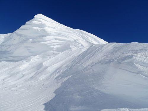 snow winter snowdrift