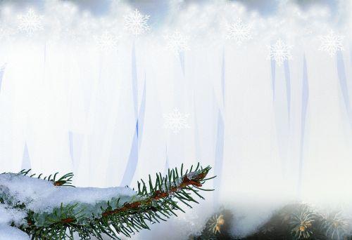 snow winter christmas