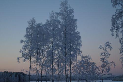 snow finnish finland