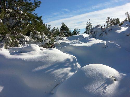 snow winter scenic