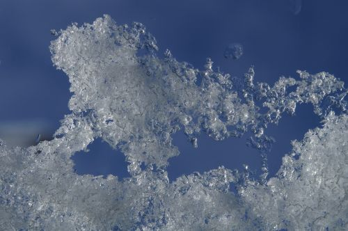 snow ice sky