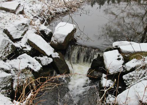 snow winter solitude