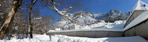 snow mountain solitude