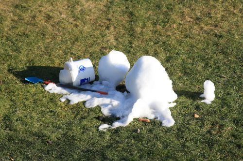 snow snow man snow melt