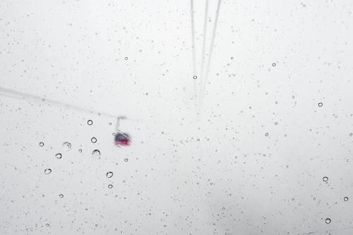 snow blizzard gondola lift