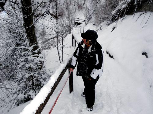 snow cold kleinwalsertal