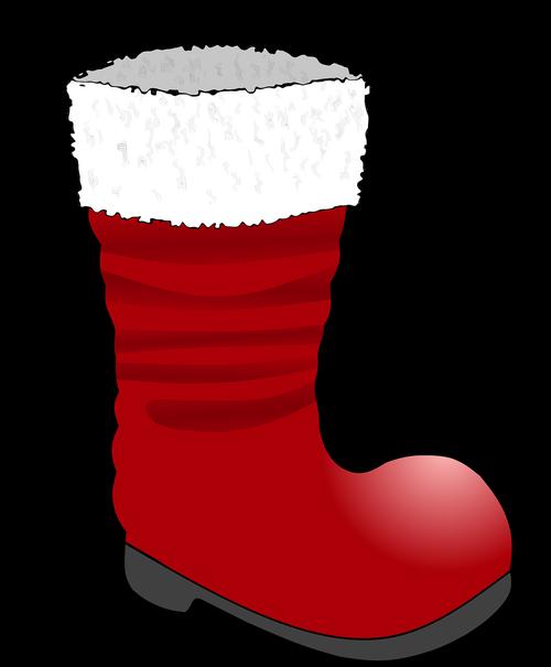 snow boots  christmas  nicholas boots