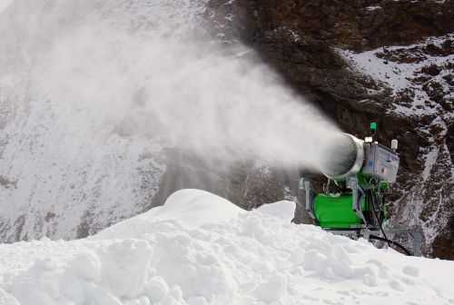 snow cannon artificial snow snow