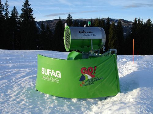 snow cannon snow making system snow guns