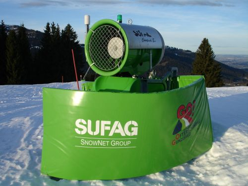 snow cannon snow making system snow guns