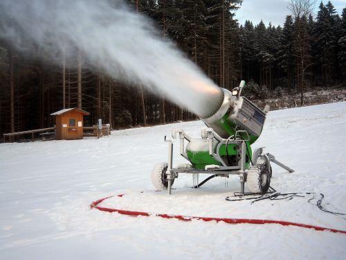 snow cannon winter snow