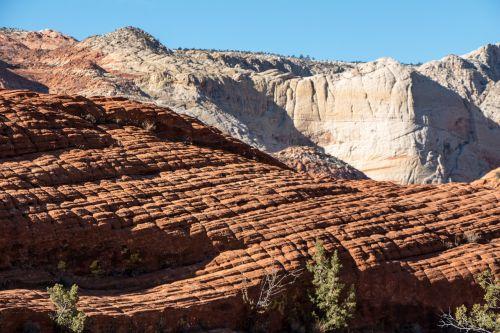 snow canyon utah sandstone