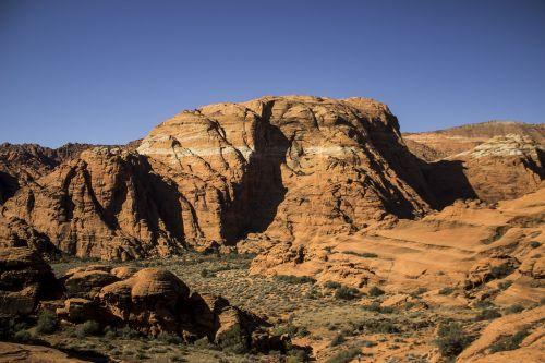 sniego kanjono valstybinis parkas,Utah,Pietvakarių Utah,kraštovaizdis,St George,pietvakarius,gamta,kanjonas,Rokas,vaizdingas,natūralus,usa,parkas,dykuma,kelionė,smiltainis,lauke,peizažas
